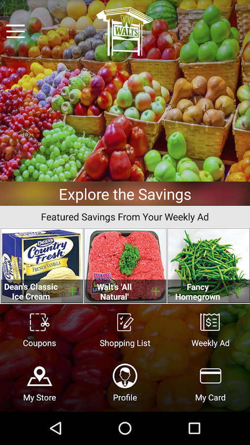 Walts foods android apps on google play