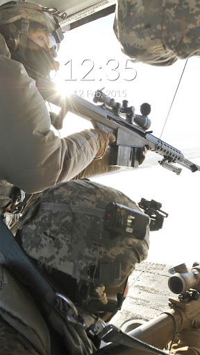 Sniper Wall Lock