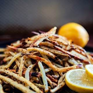 Baked Lemon Pepper French Fries