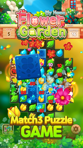 My Home Flower Garden: Puzzle Master screenshots 2