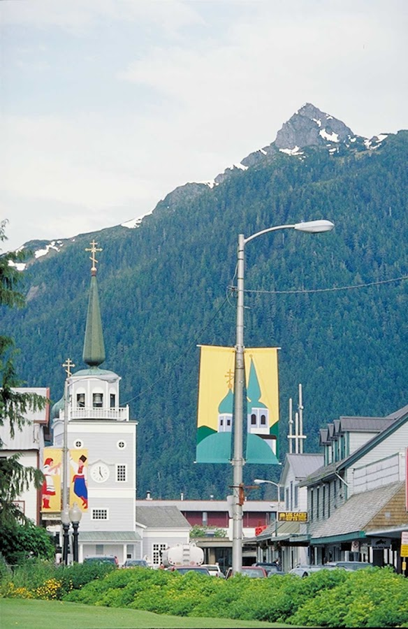 Visitors to St. Michael's Russian Orthodox Church in Sitka will see a remarkable collection of religious art, with some pieces believed to date from the 1600s.