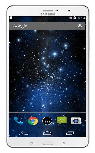 玩免費個人化APP|下載3D銀河星空動態桌布 app不用錢|硬是要APP