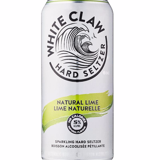 White Claw Lime Vodka Seltzer