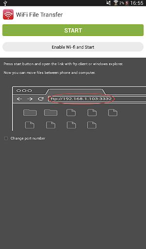 Wifi File Transfer screenshot 5