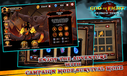 Shadow temple - God of fight 1.4