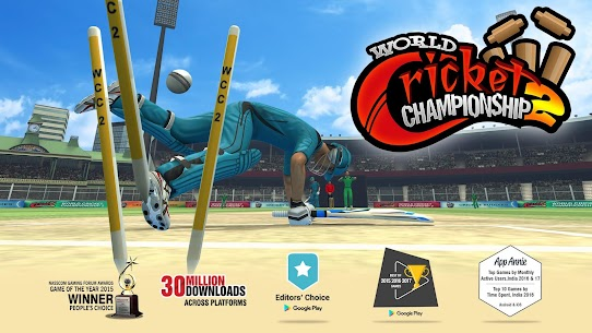 World Cricket Championship 2 MOD 2.7.6 (Unlimited Coins/Unlocked) Apk + Data 1