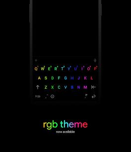 Chrooma Keyboard – Teclado RGB para tu Android 1