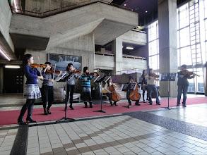 Photo: ロビーコンサート練習風景