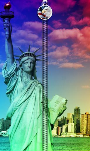 Statue Of Liberty ZipperUnLock