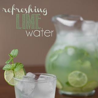 Refreshing Lime Water Recipe