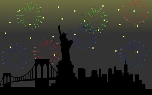 New Year 2019 Countdown Fireworks Live Wallpaper 1.6.0 screenshots 1