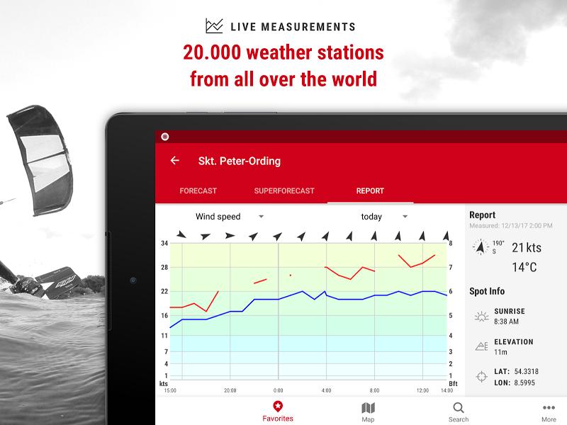 Windfinder Pro - weather & wind forecast Screenshot 7