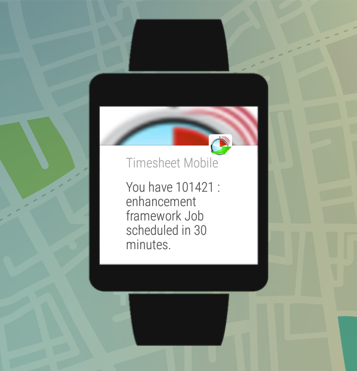 Employee Time Clock with GPS- screenshot