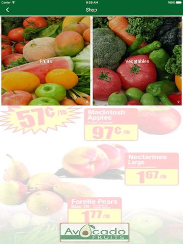 android Avocado Fruits Screenshot 4