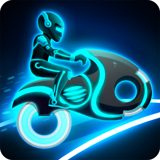 Download Bike Race Game: Traffic Rider Of Neon City