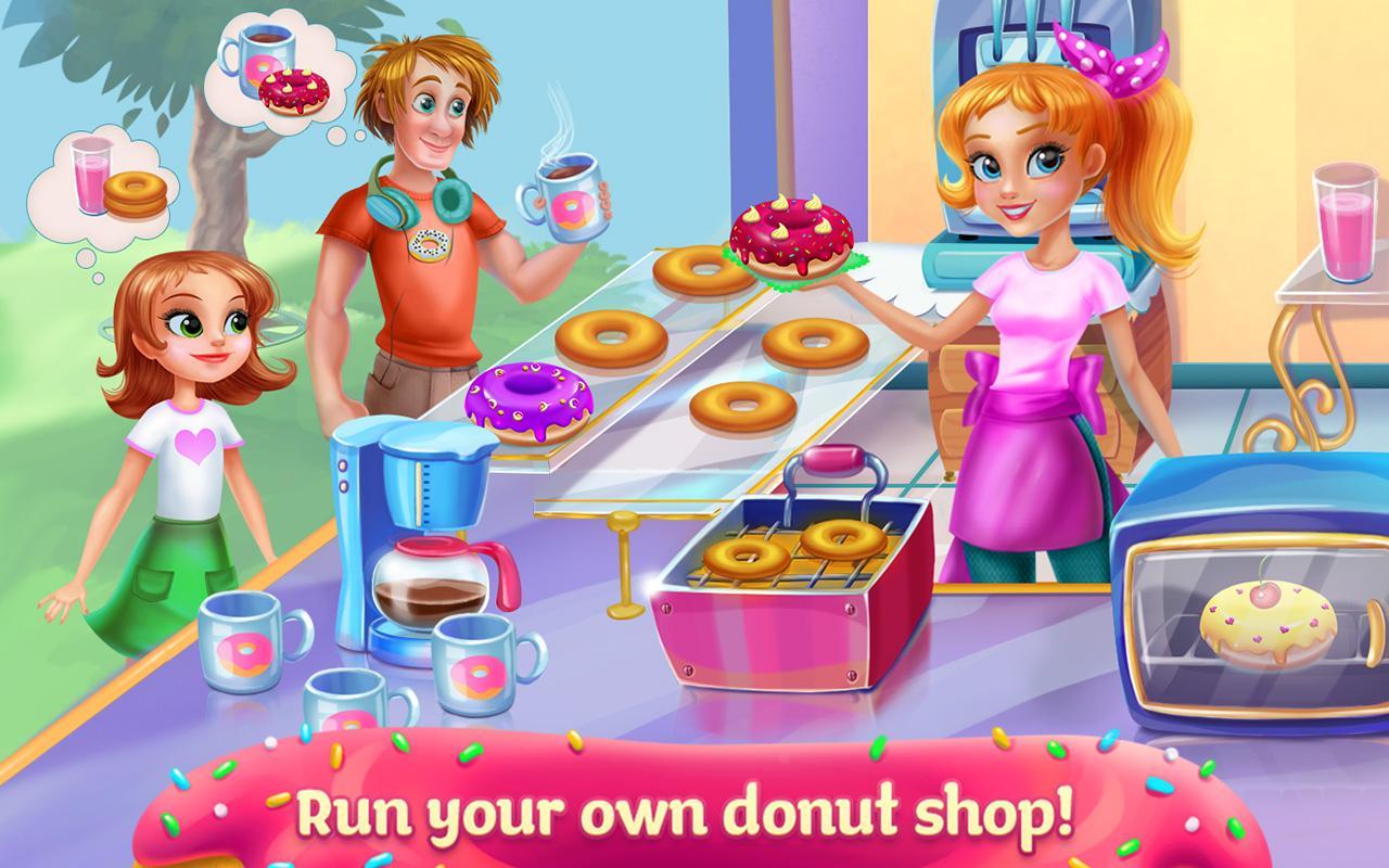 Cake Shop Bakery Games