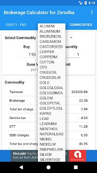 zerodha brokerage calc