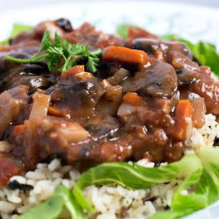 Savory Mushroom Stew.
