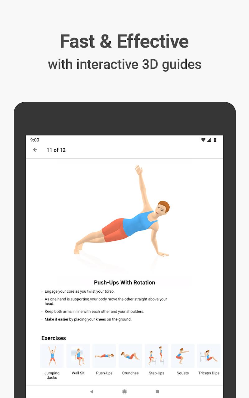 Seven - 7 Minute Workout Screenshot 6