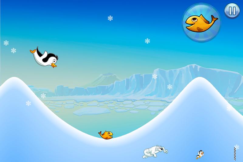 Скриншот Racing Penguin - Flying Free