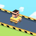 Blocky Escape Plan Road Race icon