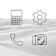 Lines Dark - Black Icons (Free Version) Download for PC Windows 10/8/7