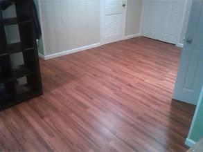Photo: New Laminate flooring, Hempstead, NY