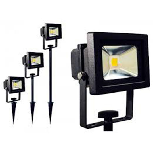 Spotlight 115 mm 1x10W led conn