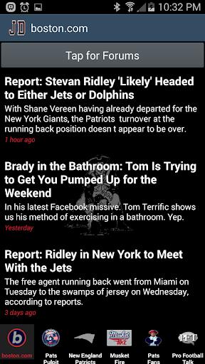 JD's New England Patriots News