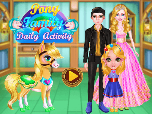 Pony Unicorn Horse Games For Girls: capturas de pantalla de Makeup Salon 1