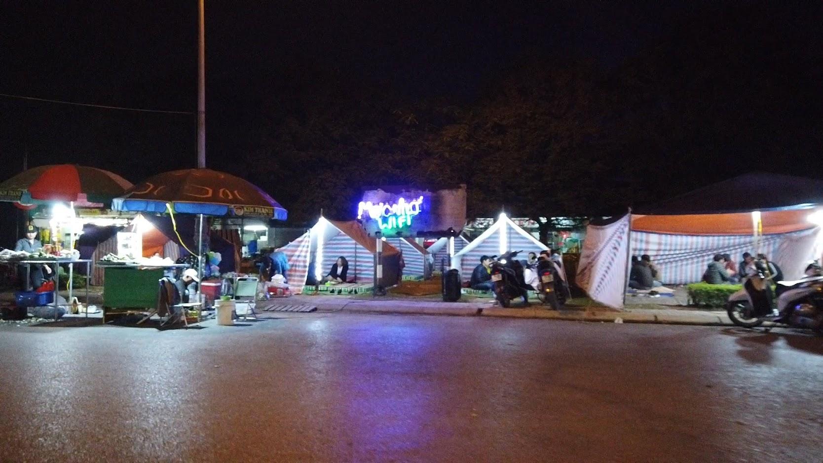 Ăn mực đêm ở Hồ Đào tại Hải Phòng 2