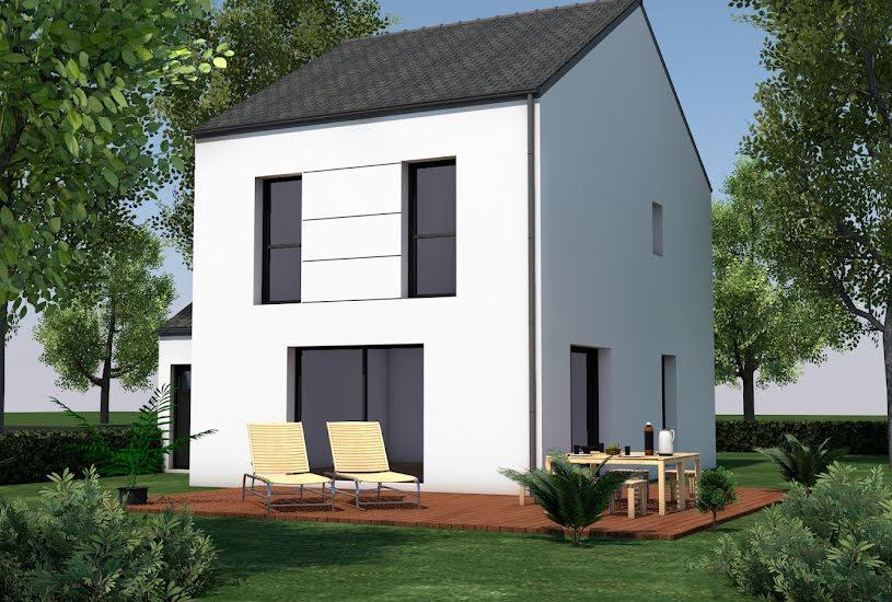 Vente Terrain + Maison - Terrain : 365m² - Maison : 82m² à Saint-Herblon (44150)