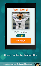 Guess Footballer Nationality APK screenshot thumbnail 9