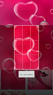 Růžová Srdce GO Launcher - náhled