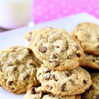 Soft and Chewy Chocolate Chip Cookies.