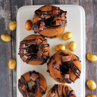 Butterfinger Nest Eggs and Bacon Donuts