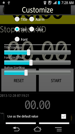 Multi Stopwatch and Timer Pro screenshot 7