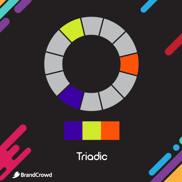 the-image-depicts-the-color-scheme-with-triadic-colors