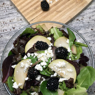 Blackberry Pear Salad with Smokey Maple Vinaigrette