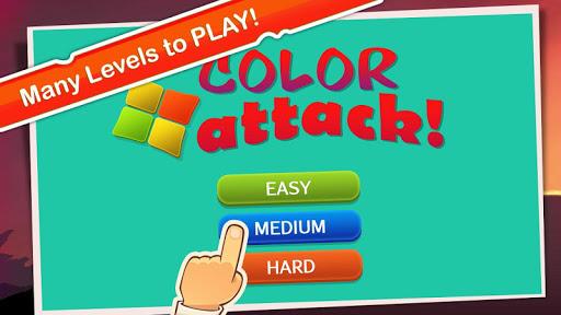 Color Attack: Block Game