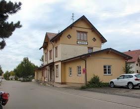 Photo: Bahnhof Ilsfeld, längst außer Betrieb