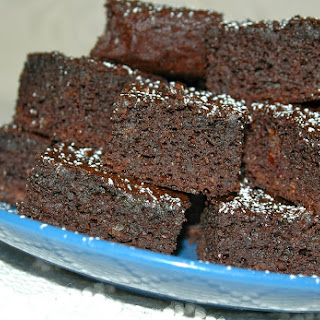Healthy Date Brownies.