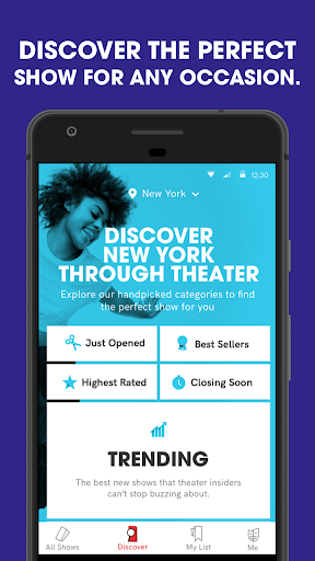 TodayTix – Theater Tickets for PC