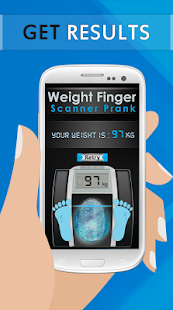 Weight Finger Scanner Prank- screenshot thumbnail