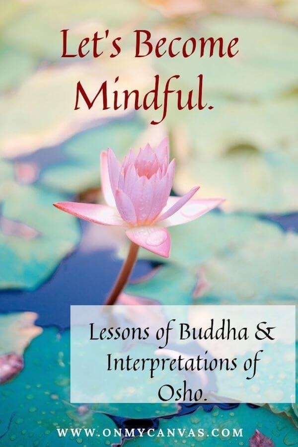 pinterest image for article about what is mindfulness