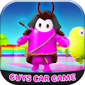 Ultimate Fall Guys: 3D Car Game icon