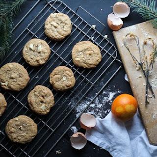 White Chocolate Hazelnut Crunch Cookies