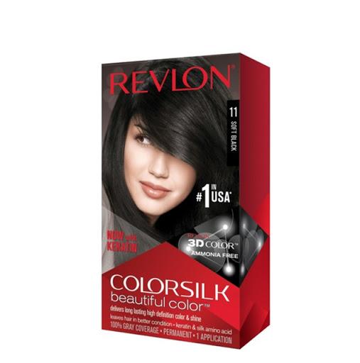 tinte revlon color silk negro suave