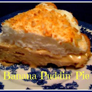 Banana Puddin' Pie!