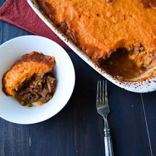Sweet Potato Shepherd's Pie-Slimmed Down